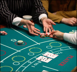Valuation of Hands in Baccarat